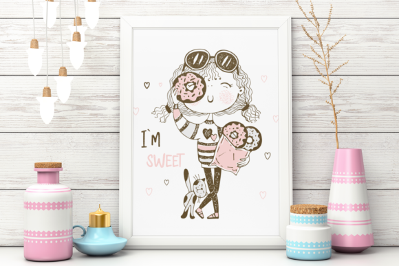 Sweet Girl. Graphic Illustrations By grigaola - Image 5
