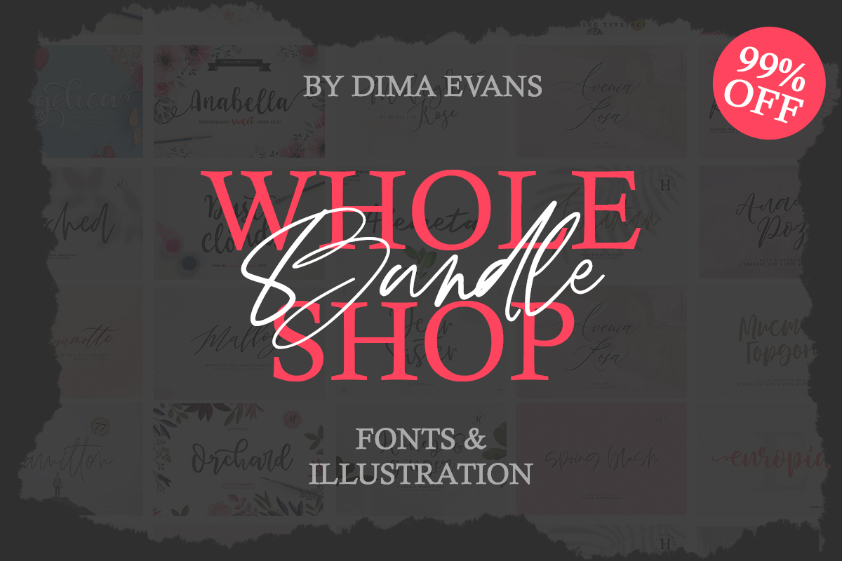 Whole Shop Bundle Free Download