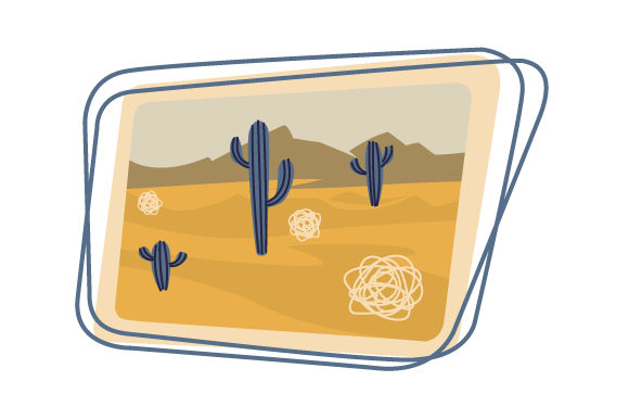 Cactus & Tumbleweed Farm & Country Craft Cut File By Creative Fabrica Crafts