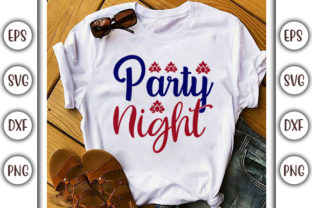 Print on Demand: 4th of July Design, Party Night Graphic Print Templates By GraphicsBooth