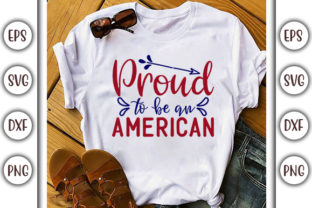 Print on Demand: 4th of July Design, Proud Graphic Print Templates By GraphicsBooth