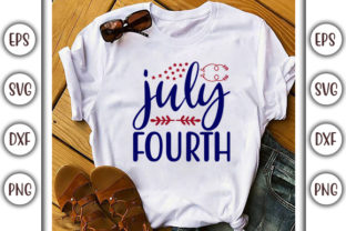 Print on Demand: 4th of July Design, July Fourth Graphic Print Templates By GraphicsBooth