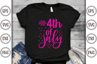 Print on Demand: 4th of July Quotes Design,  4th of July Graphic Print Templates By GraphicsBooth