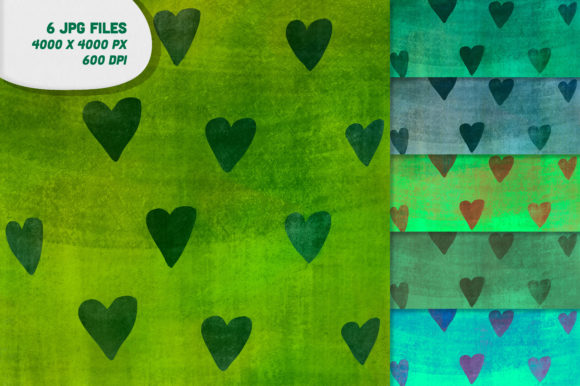 Download Free 6 Cute Drealy Digital Paper Background Graphic By Inkclouddesign for Cricut Explore, Silhouette and other cutting machines.