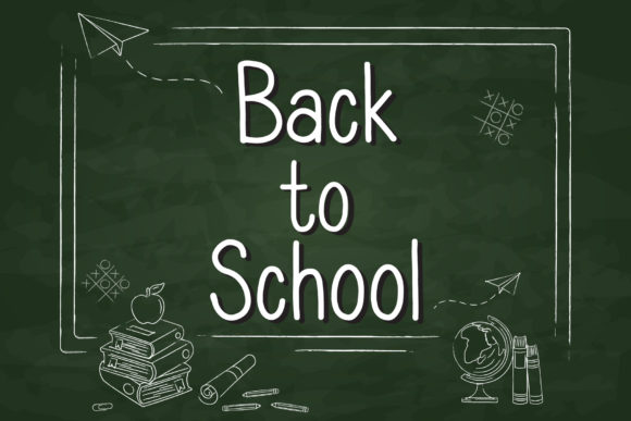 Print on Demand: Back to School Script & Handwritten Font By AquariiD