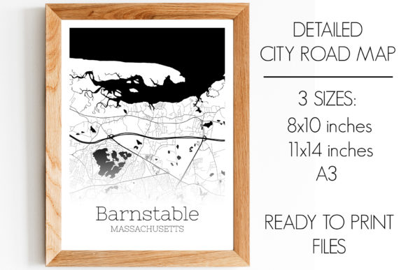 Download Free Barnstable Town Massachusetts City Map Graphic By Svgexpress for Cricut Explore, Silhouette and other cutting machines.