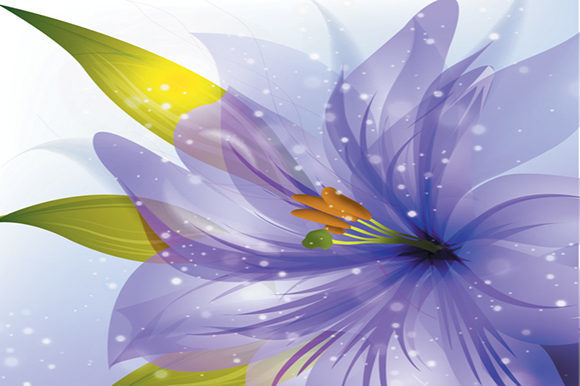 Beautiful Flowers Background Graphic Backgrounds By ART Design - Image 2