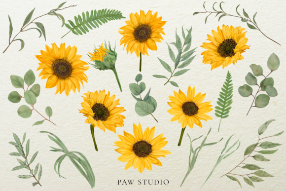 Print on Demand: Bloom & Vintage Graphic Graphic Illustrations By PawStudio - Image 2
