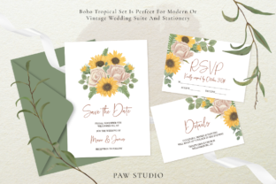 Print on Demand: Bloom & Vintage Graphic Graphic Illustrations By PawStudio 6