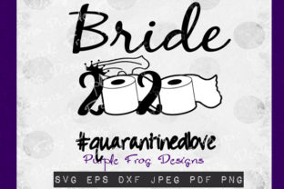 Bride 2020 - Quarantine Clip Art Graphic Illustrations By Heather Terry