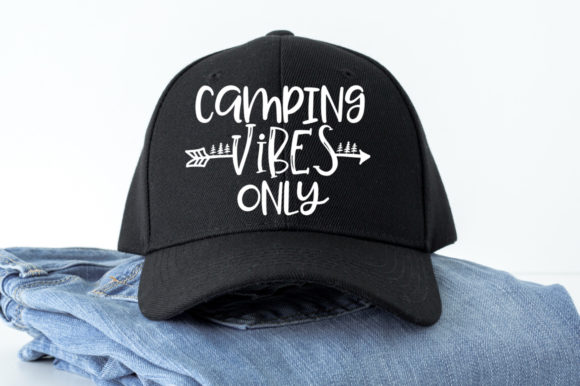 Download Free Camping Vibes Only Svg Graphic By Simply Cut Co Creative Fabrica for Cricut Explore, Silhouette and other cutting machines.