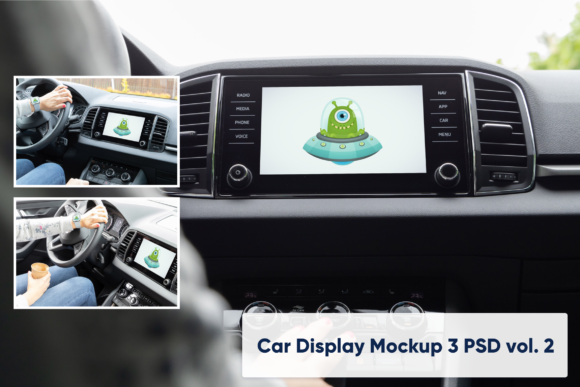 Download Free Car Display Vol 2 3 Mockups Graphic By Marian Kadlec for Cricut Explore, Silhouette and other cutting machines.