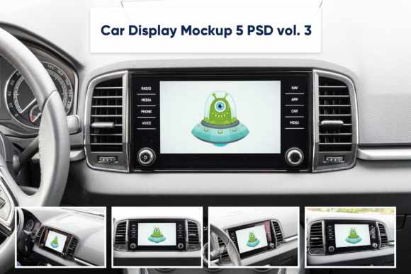 Download Free Car Display Vol 3 5 Mockups Graphic By Marian Kadlec for Cricut Explore, Silhouette and other cutting machines.
