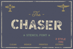 Print on Demand: Chaser Display Font By Pasha Larin