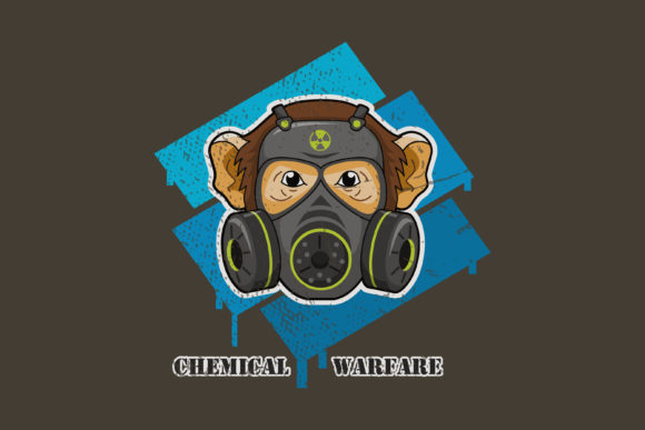 Download Free Chemical Warfare A Monkey And Mask Graphic By Contr4 Creative SVG Cut Files