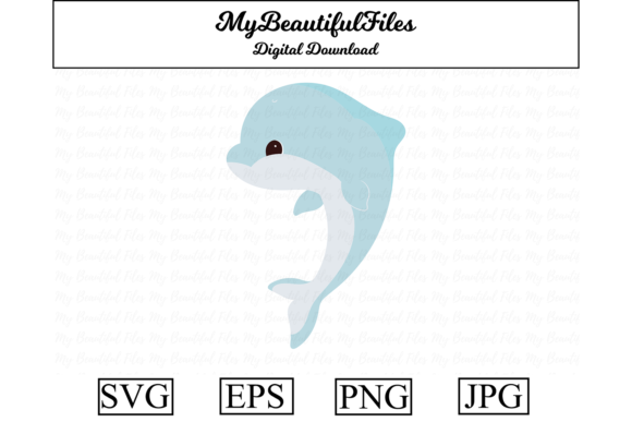 Print on Demand: Dolphin Graphic Illustrations By MyBeautifulFiles