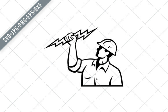 Download Free Electrician Power Lineman Graphic By Patrimonio Creative Fabrica SVG Cut Files