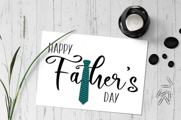 Download Free Father S Day Greeting Card Graphic By The Little Crafty Shop for Cricut Explore, Silhouette and other cutting machines.