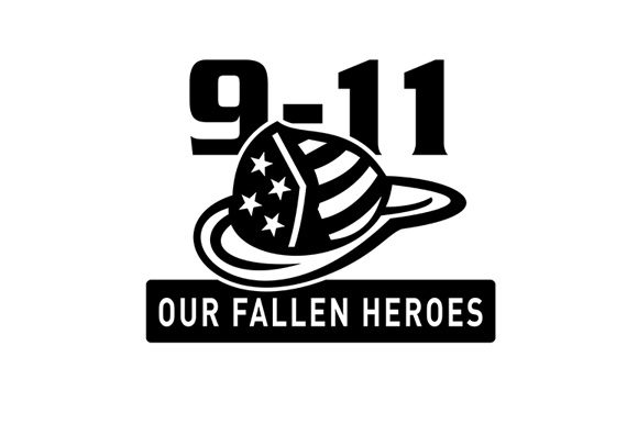 Download Free Fireman Hat 911 Fallen Heroes Graphic By Patrimonio Creative for Cricut Explore, Silhouette and other cutting machines.