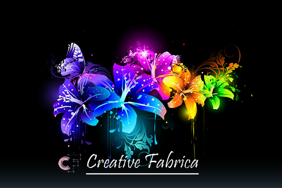 Download Free Flowers Vector Graphic By Art Design Creative Fabrica for Cricut Explore, Silhouette and other cutting machines.