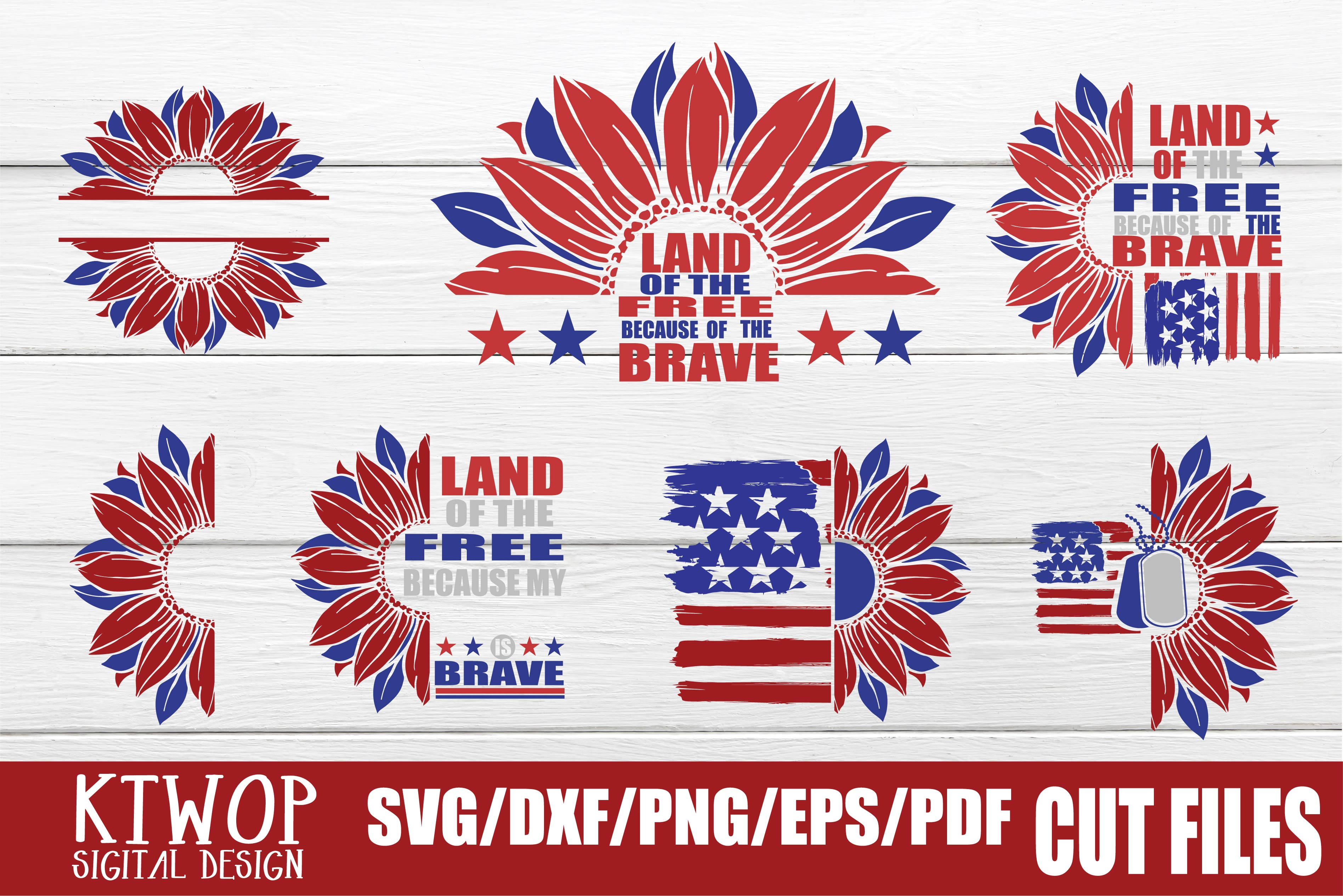 Download Free Fourth Of July Bundle Independence Day Graphic By Ktwop for Cricut Explore, Silhouette and other cutting machines.
