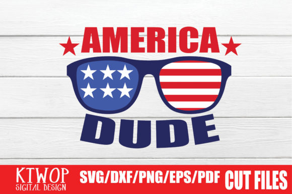 Download Free America Dude Graphic By Ktwop Creative Fabrica for Cricut Explore, Silhouette and other cutting machines.