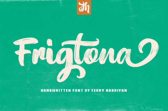 Print on Demand: Frigtona Script & Handwritten Font By feydesign