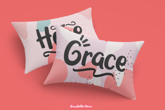 Print on Demand: Grace & Hope Script & Handwritten Font By yean.aguste - Image 7