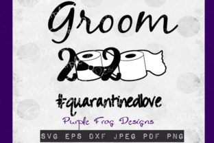 Groom 2020 - Quarantine Clipart Gráfico Ilustraciones Por Heather Terry