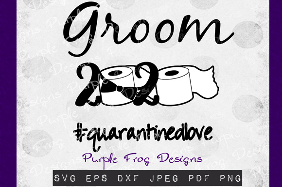 Download Free Groom 2020 Quarantine Clipart Graphic By Heather Terry Creative Fabrica for Cricut Explore, Silhouette and other cutting machines.