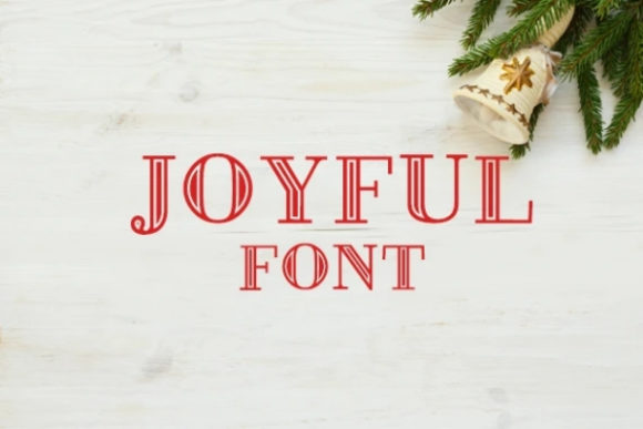 Print on Demand: Joyful Serif Font By carina2