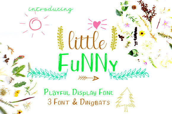 Print on Demand: Little Funny Display Font By YOEW