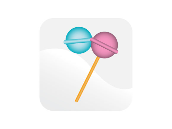 Download Free Lollipop Candy Sweet Icon Graphic By Samagata Creative Fabrica for Cricut Explore, Silhouette and other cutting machines.