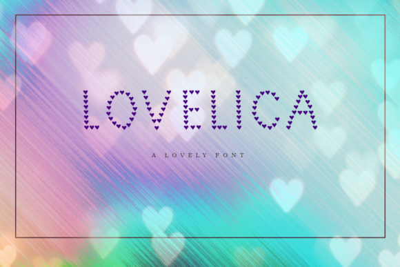 Print on Demand: Lovelica Decorative Font By infinitismo