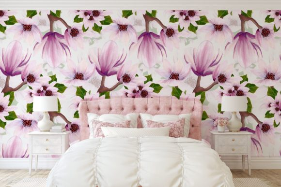 Print on Demand: Magnolia Pattern Collection Graphic Patterns By Andreea Eremia Design - Image 3