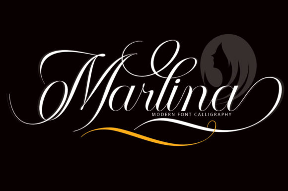 Print on Demand: Marlina Script & Handwritten Font By aneukmuda190