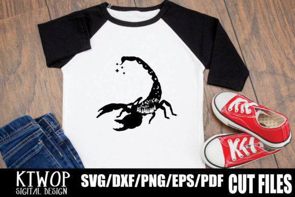 Download Free Nature X Scorpion Graphic By Ktwop Creative Fabrica for Cricut Explore, Silhouette and other cutting machines.