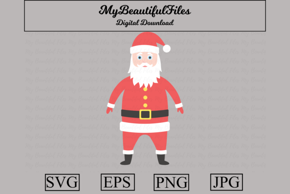Download Free 48 Santa Claus Designs Graphics for Cricut Explore, Silhouette and other cutting machines.