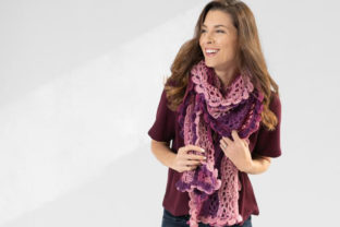 Scroll Lace Scarf Crochet Pattern Graphic Crochet Patterns By Knit and Crochet Ever After 1