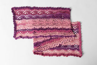 Scroll Lace Scarf Crochet Pattern Graphic Crochet Patterns By Knit and Crochet Ever After 2