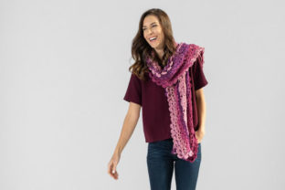 Scroll Lace Scarf Crochet Pattern Graphic Crochet Patterns By Knit and Crochet Ever After 3