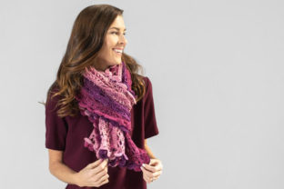 Scroll Lace Scarf Crochet Pattern Graphic Crochet Patterns By Knit and Crochet Ever After 4