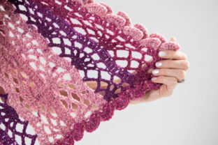 Scroll Lace Scarf Crochet Pattern Graphic Crochet Patterns By Knit and Crochet Ever After 7