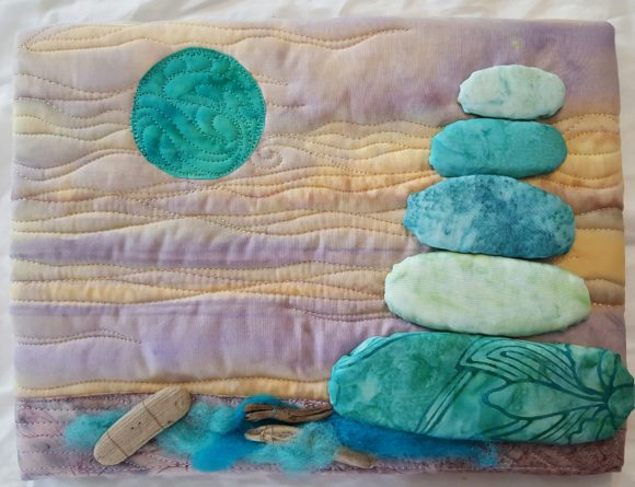 Serenity Rocks Graphic Quilt Patterns By quiltedfabricart - Image 1
