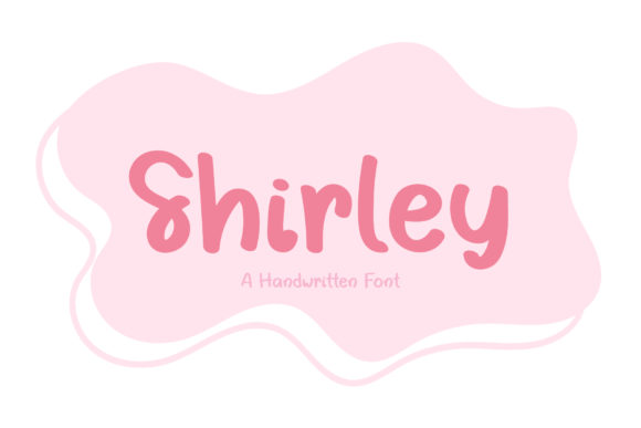 Print on Demand: Shirley Script & Handwritten Font By Wanida Toffy