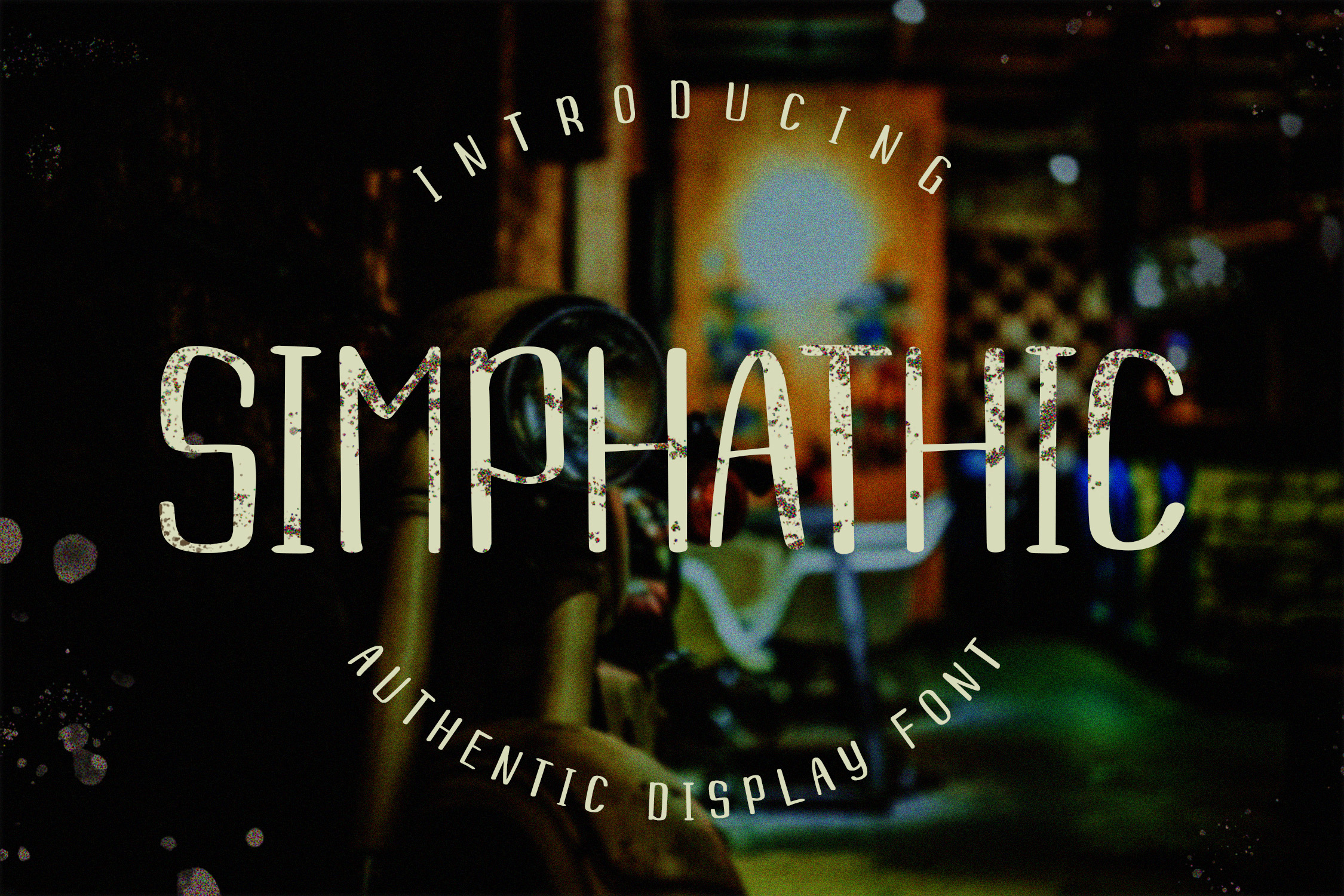 Download Free Simphathic Font By Dwikrisdiantoro9 Creative Fabrica for Cricut Explore, Silhouette and other cutting machines.