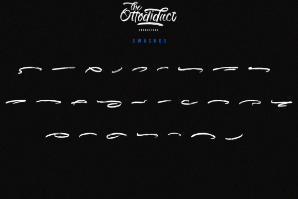 The Ottodidact Font Downloadable Digital File
