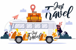 Travel Background Classic Design Graphic Web Templates By ART Design