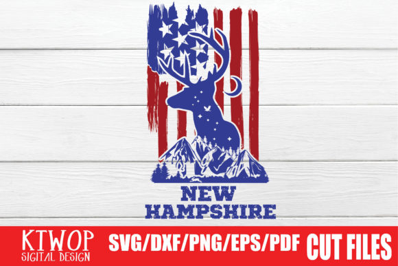 Download Free Usa X Animal Deer New Ham Fourth Of July Graphic By Ktwop for Cricut Explore, Silhouette and other cutting machines.