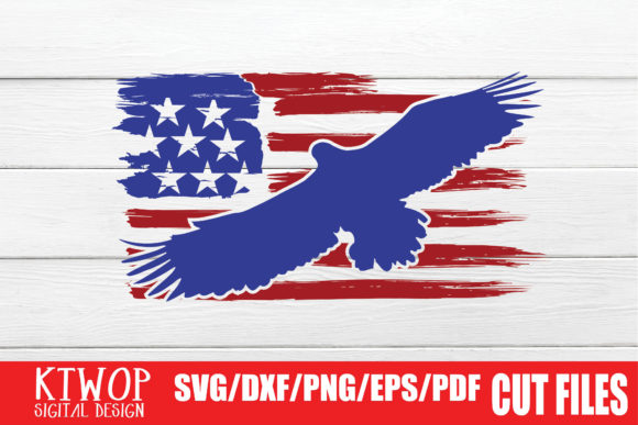 Download Free Usa X Animal Eagle Fourth Of July Graphic By Ktwop Creative for Cricut Explore, Silhouette and other cutting machines.